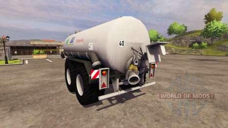 Remolque-tanque de BSA Pumptankwagen 1997 para Farming Simulator 2013