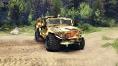 El GAZ-2975 Tiger camo