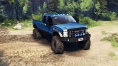 Ford F-350 Super Duty 6.8 2008 v0.1.0 blue