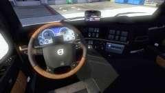 Interior de la nueva Volvo