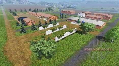 Ubicación En el río para Farming Simulator 2013