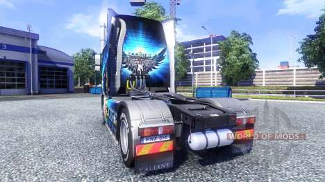 Color-Rockstar Energy Drink - en el tractor Volv para Euro Truck Simulator 2