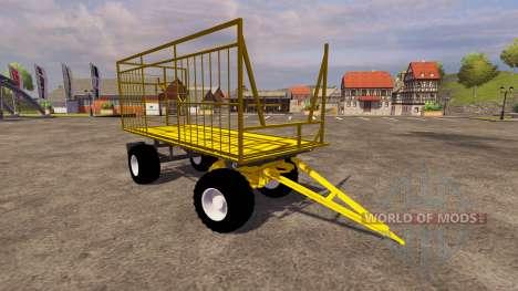 Amarillo remolque para Farming Simulator 2013
