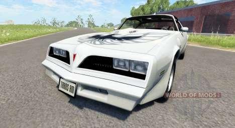 Pontiac Firebird Trans Am 1977 para BeamNG Drive