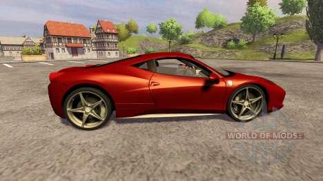 Ferrari 458 Italia para Farming Simulator 2013