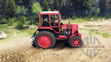 MTZ 82.1 para Spin Tires