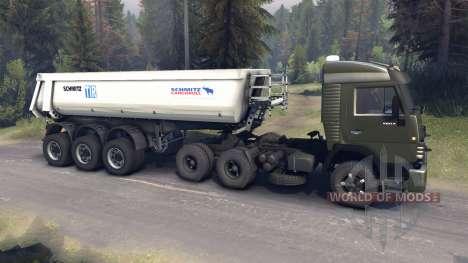 KamAZ-5410 v2.0 para Spin Tires