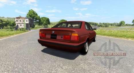 BMW 525 E34 para BeamNG Drive