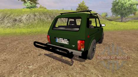 VAZ 2121 Niva para Farming Simulator 2013