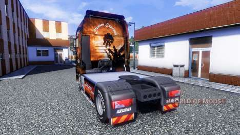 Color-Dream Express - camiones MAN TGX para Euro Truck Simulator 2