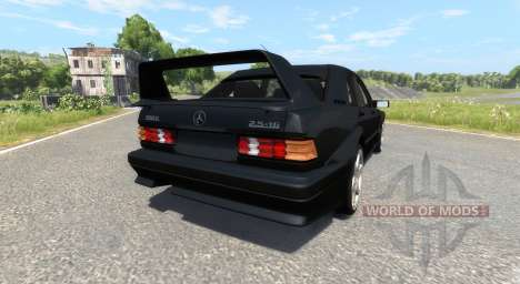 Mercedes-Benz 190E Evolution II 2.5 1990 para BeamNG Drive