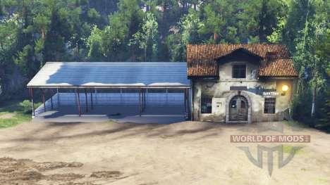 La nave y la casa en lugar de en el garaje para Spin Tires