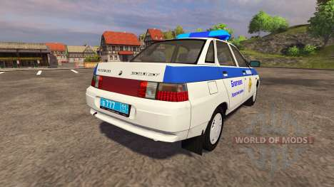 De los FLOREROS 2110 de la Policía para Farming Simulator 2013