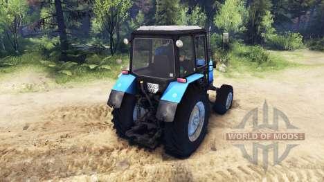 MTZ-1025 para Spin Tires