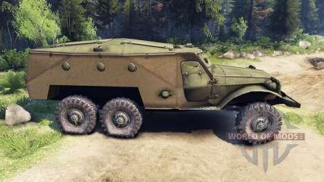 BTR 152 para Spin Tires