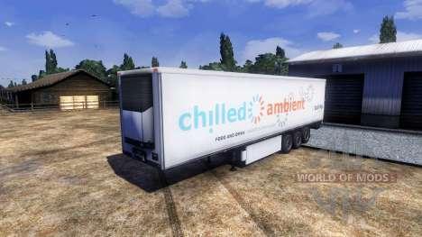 Pak libreas para remolques para Euro Truck Simulator 2
