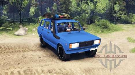 VAZ 2104 v2.0 para Spin Tires