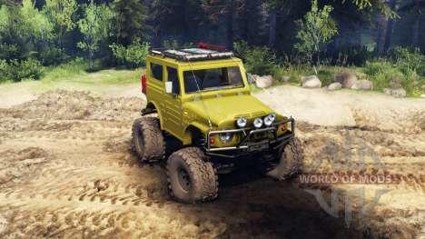 Suzuki Samurai LJ880 green para Spin Tires