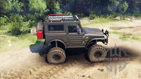 Suzuki Samurai LJ880 black para Spin Tires