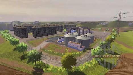La Ubicación De La Aldea para Farming Simulator 2013