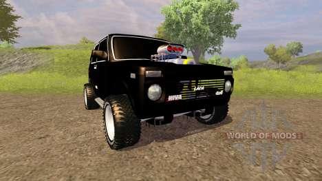 De los FLOREROS 2121 Niva Monstruo para Farming Simulator 2013