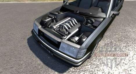 Mercedes-Benz 300E para BeamNG Drive