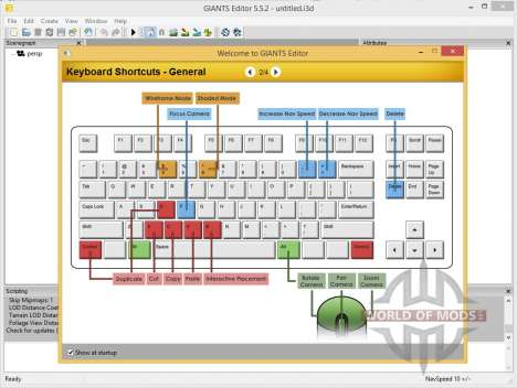 GIANTS Editor v5.5.2 64bit para Farming Simulator 2013