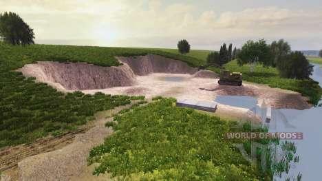 Ubicación de la Granja Amanecer v2.0 para Farming Simulator 2013