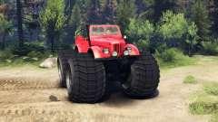 ГАЗ-69М Monstruo Rojo