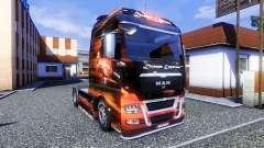 Color-Dream Express - camiones MAN TGX