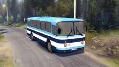 ЛАЗ-699Р rayas azules