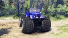 ГАЗ-69М Monstruo Azul