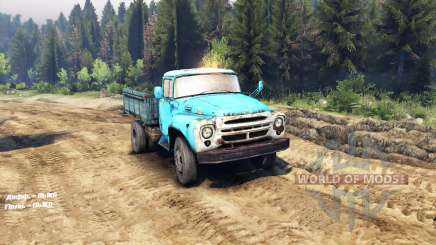 ZIL 130 4x4 para Spin Tires