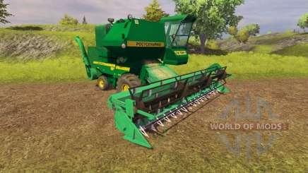 СК 5М 1 Hива ПУН verde para Farming Simulator 2013