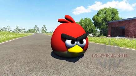 Pájaro rojo (rojo) Angly de Aves para BeamNG Drive