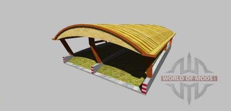 Ensilaje de boxes con un dosel v3.0 para Farming Simulator 2013