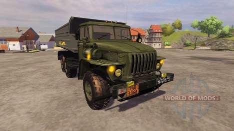 Ural-4320 camión para Farming Simulator 2013