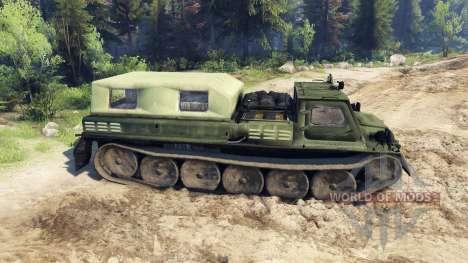 GAZ-71 (GT-CM) para Spin Tires