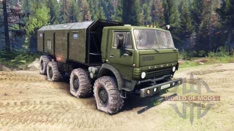 KamAZ-6350 Mustang 1998 para Spin Tires