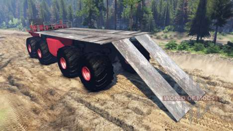 Monster truck para Spin Tires