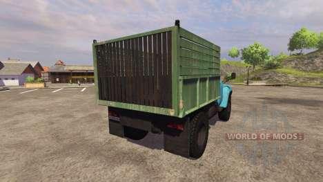 Zil 130 mmz 4502 v2.0 para Farming Simulator 2013