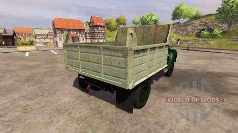 ZIL 130 MMZ 4502 para Farming Simulator 2013