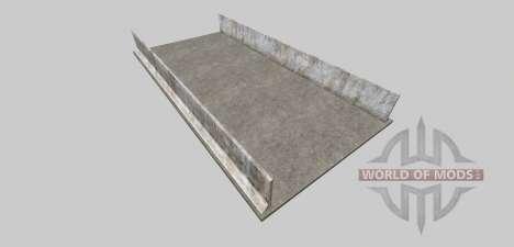 Ensilaje de hoyo de (hormigón) para Farming Simulator 2013