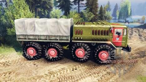 MAZ-537 MES para Spin Tires