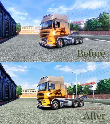 HDR mejora para Euro Truck Simulator 2
