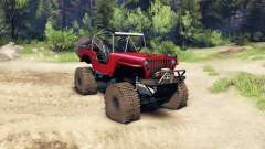 Jeep Willys red