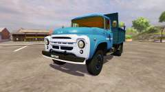 ZIL 130 MMP 4502 azul