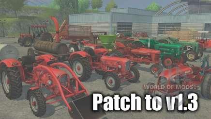 Parche para la versión 1.3 para Farming Simulator 2013