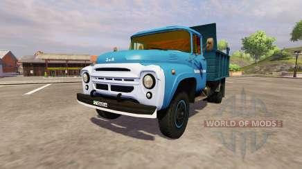 ZIL 130 MMP 4502 azul para Farming Simulator 2013