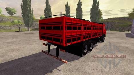 KamAZ-54115 De La Junta De para Farming Simulator 2013